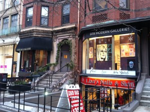 Lindsey Davis: On Newbury Street, Boston