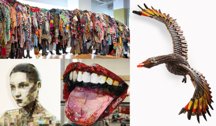 Material Renewal: Four Artists Turning Trash into Art